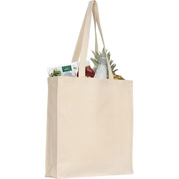 Picture of Aylesham 8oz cotton tote natural