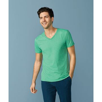 Picture of Gildan Mens Softstyle V Neck T-Shirt
