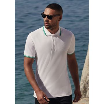 Picture of Mens Tipped Polo shirt