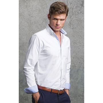 Picture of Gents Long sleeve Oxford shirt