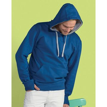 Picture of Mens Contrast Hoodie