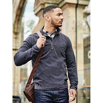 Picture of Mens Zip Neck Fleece