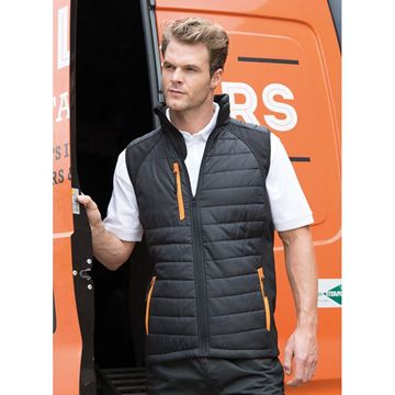 Picture of Black Compass Padded Gilet