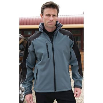 Picture of Hooded softshell Jacket