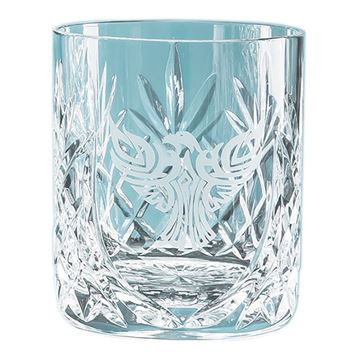 Picture of 400ml Glencoe Lead Crystal Panel Whisky Tumbler