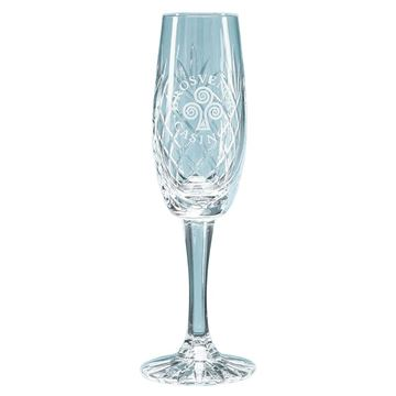 Picture of 165ml Glencoe Lead Crystal Panel Champagne Flute