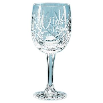 Picture of 285ml Glencoe Lead Crystal Panel Goblet