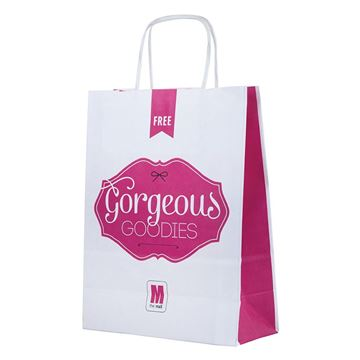 Picture of Twisted Paper Handle Carrier Bag