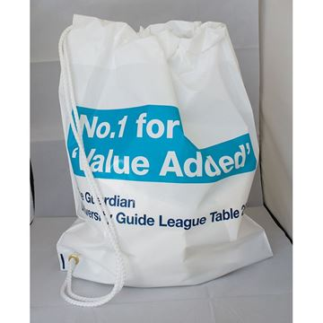 Picture of Duffle Style Polythene Carrier Bag