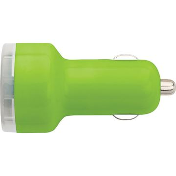 Picture of Plastic car power adapter
