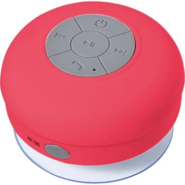 Picture of Water resistant plastic speaker.