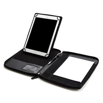 Picture of A5 Zipped adjustable tablet holder with a multi position tablet stand
