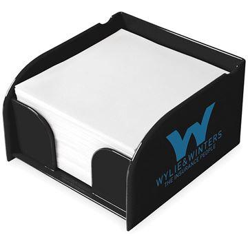 Picture of Vessel memo block holder.